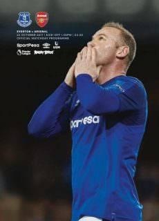 Everton Programmes — 21 October 2017