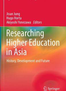 Researching Higher Education in Asia History, Development and Future