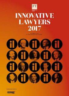 Financial Times Innovative Law Year 2017 – October 05, 2017