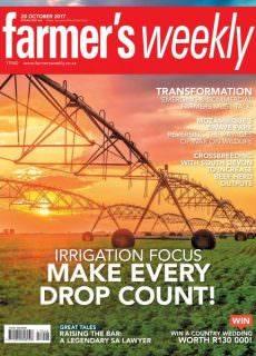 Farmer's Weekly — 20 October 2017