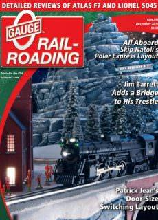 O Gauge Railroading — December 2017