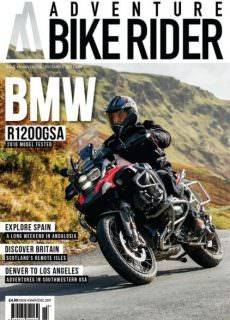 Adventure Bike Rider — November-December 2017