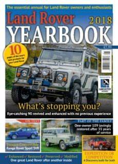 The Landy — Land Rover Yearbook 2018