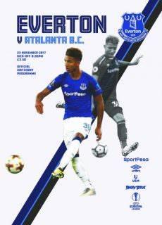 Everton Programmes — 23 November 2017