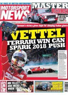 Motorsport News — November 15, 2017