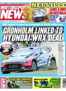 Motorsport News — November 22, 2017