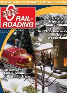 O Gauge Railroading — January 2018