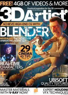 3D Artist – January 2018