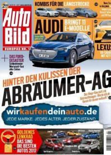 Auto Bild Germany — 11. November 2017