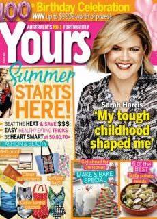 Yours Magazine Australia — November 30, 2017