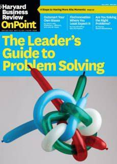Harvard Business Review OnPoint – Fall 2017