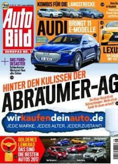 Auto Bild Schweiz — 10. November 2017