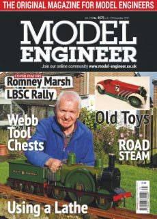 Model Engineer — 08 December 2017