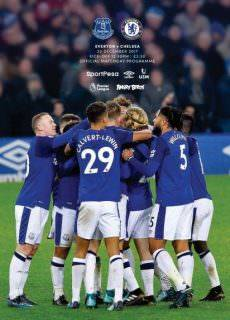 Everton Programmes — 22 December 2017