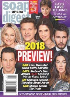 Soap Opera Digest — January 01, 2018
