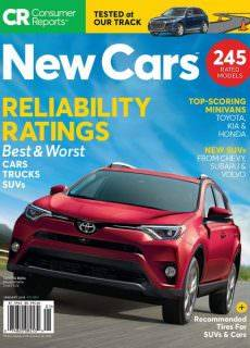 Consumer Reports New Cars — January 2018