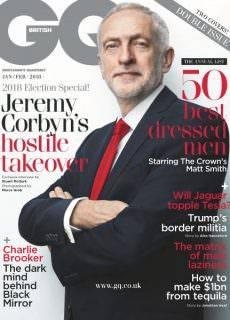 British GQ — January 2018