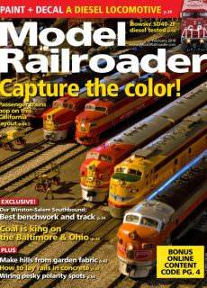 Model Railroader — February 2018