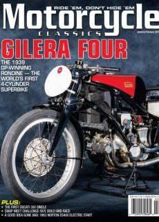 Motorcycle Classics — January-February 2018