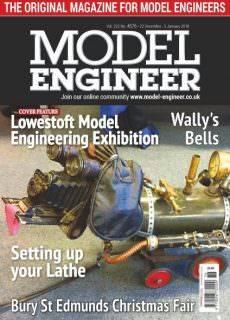 Model Engineer — 22 December 2017