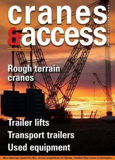 Cranes & Access — November 2017