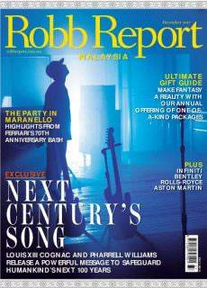 Robb Report Malaysia — December 2017