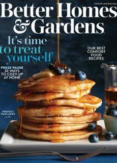 Better Homes & Gardens USA — January 2018
