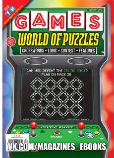 Games World of Puzzles — February 2018