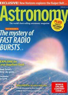 Astronomy — February 2018