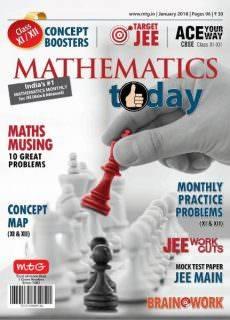 Mathematics Today — January 2018