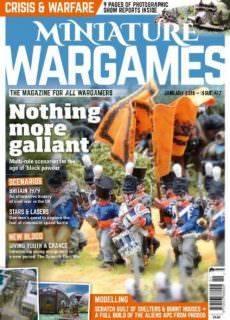 Miniature Wargames — January 2018