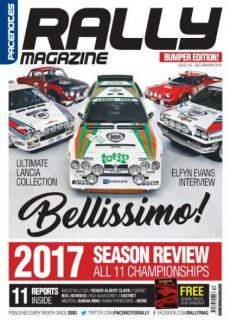 Pacenotes Rally Magazine — December 2017 — January 2018
