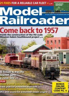 Model Railroader — January 2018