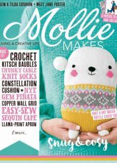 Mollie Makes — January 2018