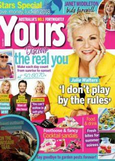 Yours Magazine Australia — January 04, 2018