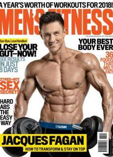 Men's Fitness South Africa — January 2018