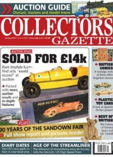 Collectors Gazette — January 2018