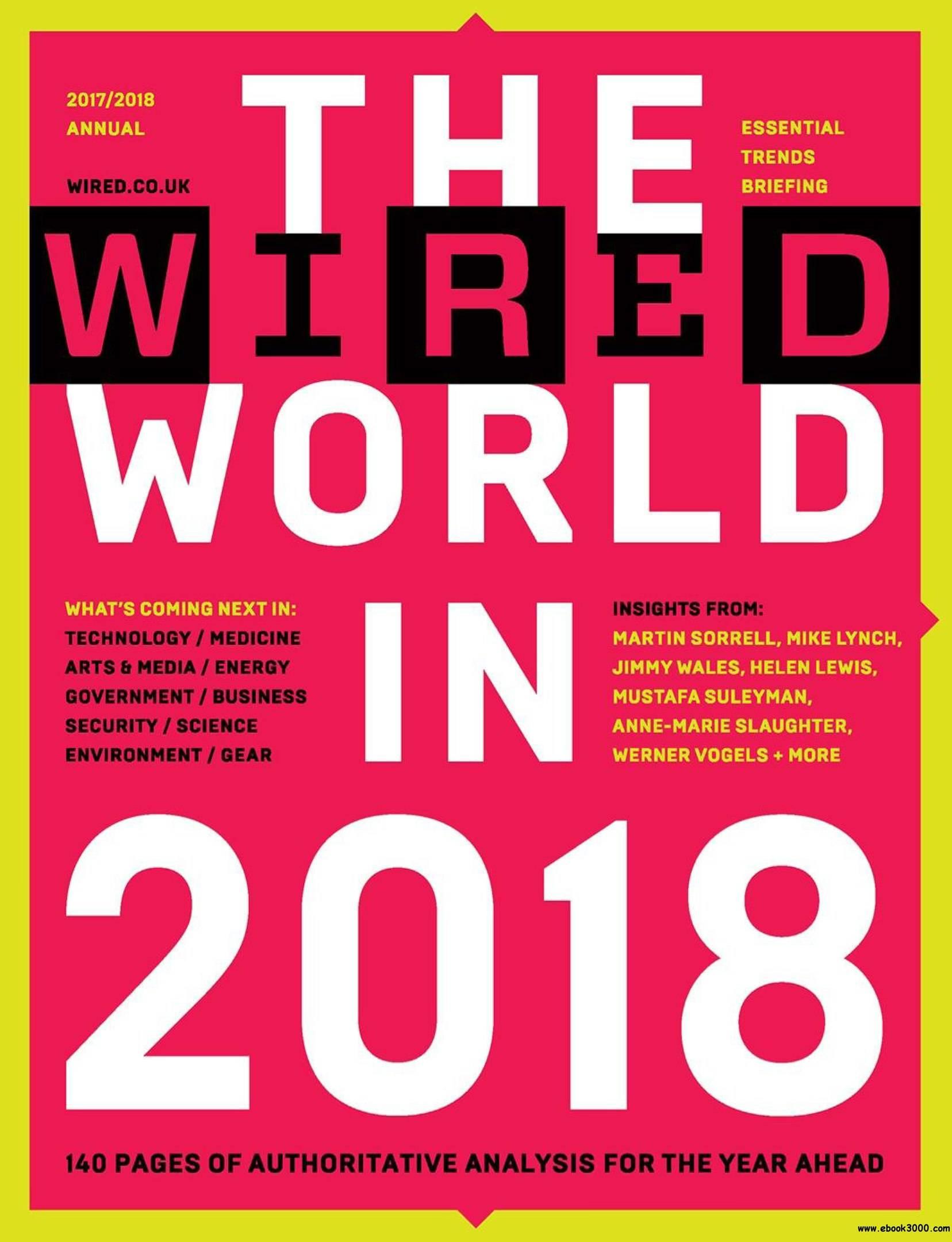 Download The Wired World UK – 2018 PDF magazine free!