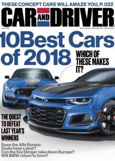 Car and Driver USA — January 2018