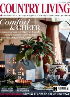 Country Living UK — January 2018