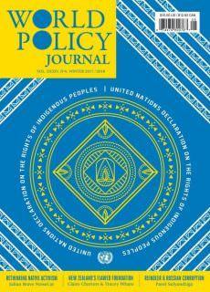 World Policy Journal — December 2017