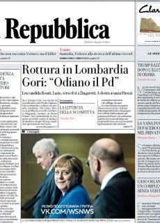la Repubblica – 13.01.2018