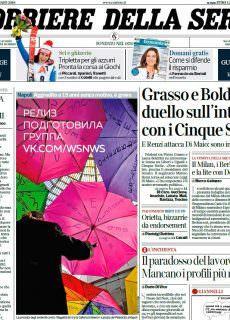 Corriere della Sera – 14.01.2018