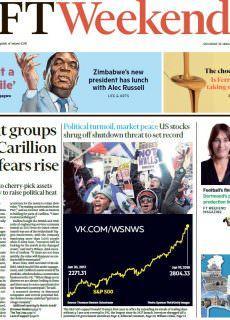 Financial Times – 20.01.2018 – 21.01.2018