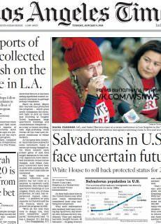 Los Angeles Times – 09.01.2018