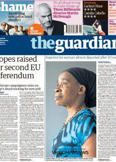 The Guardian – 12.01.2018