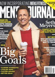 Men's Journal — January 2018