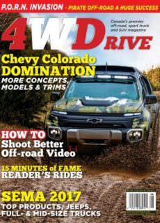Four Wheel Drive — Volume 19 Issue 8 2017