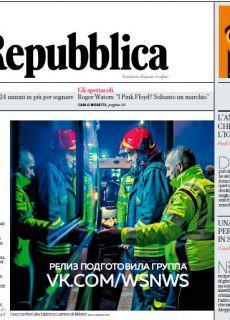 la Repubblica – 17.01.2018