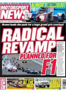 Motorsport News — January 09, 2018